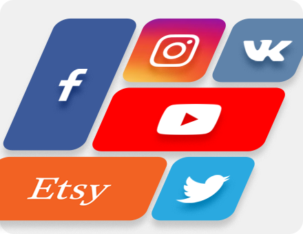 Covers and images for social networks