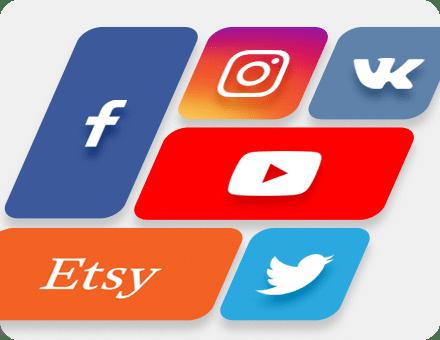 Titelbilder und Bilder für soziale Netzwerke