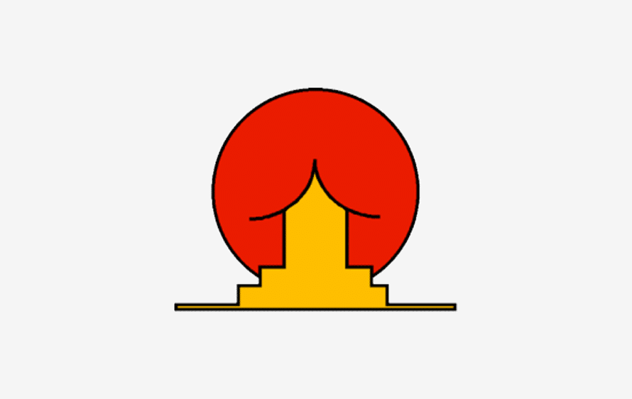 Cooles lustiges Logo