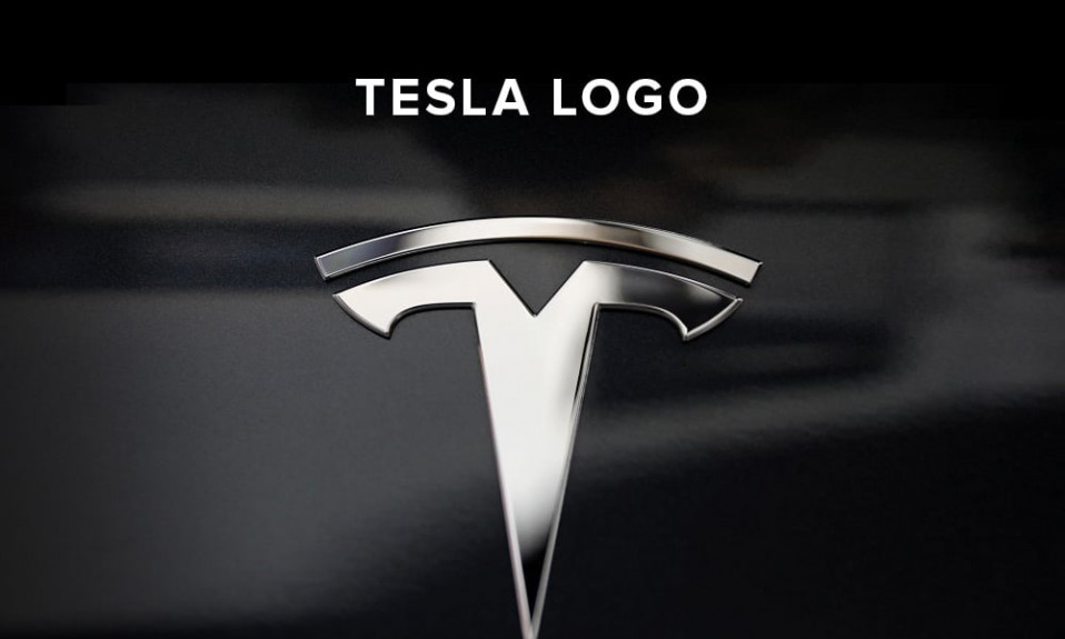 Tesla logo illustration