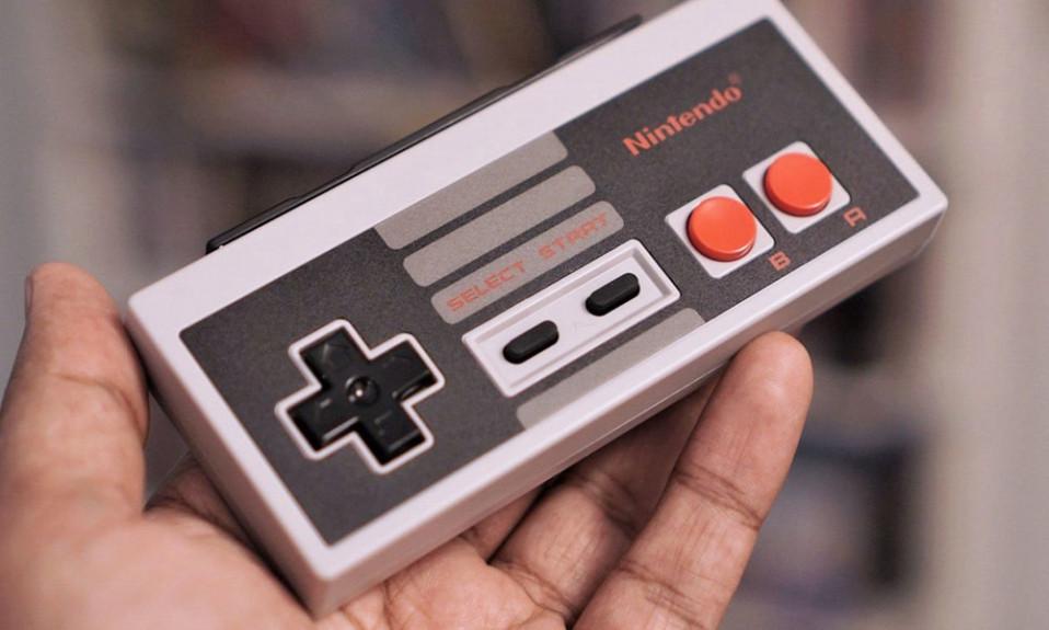 Nintendo logo cover