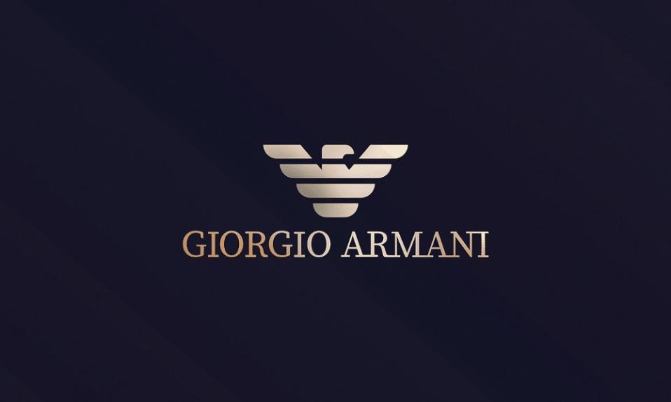 Armani logo Cover