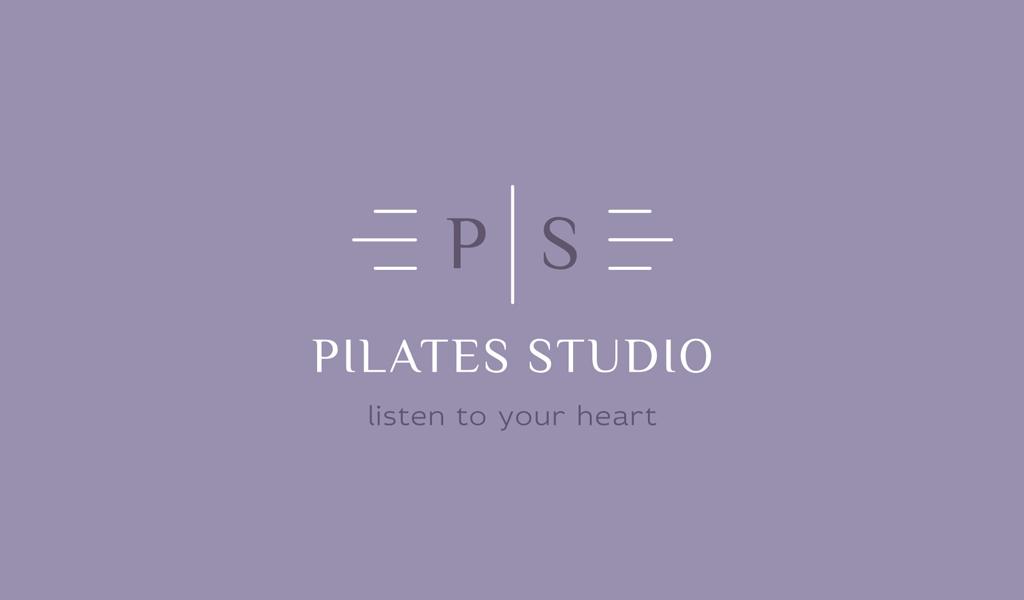 Modernes Monogramm-PS-Logo