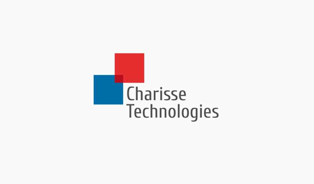 Überlappende Quadrate Logo