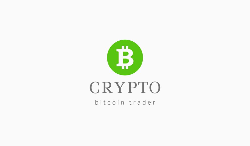 Grünes Bitcoin-Logo
