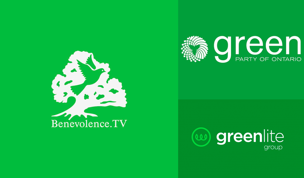 Grüne Farblogos 1