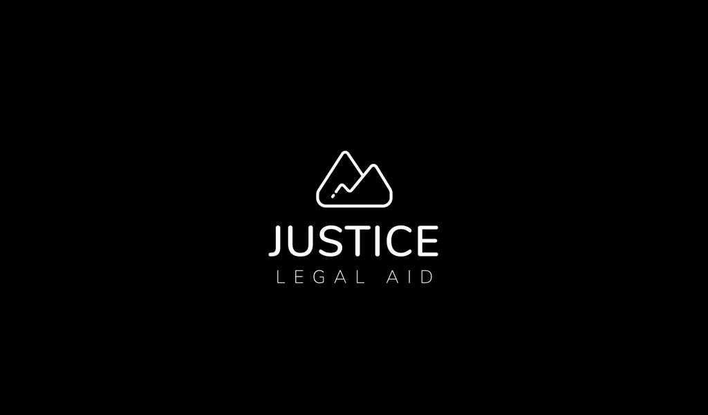 Abstraktes Logo der Berge
