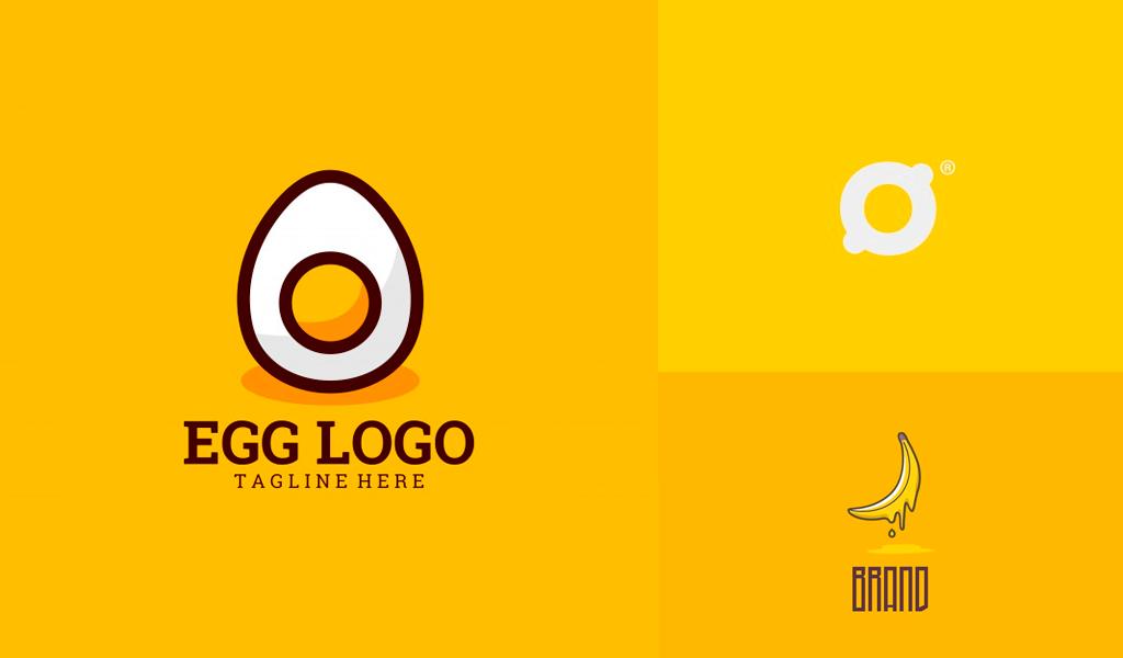 Gelbe Logos