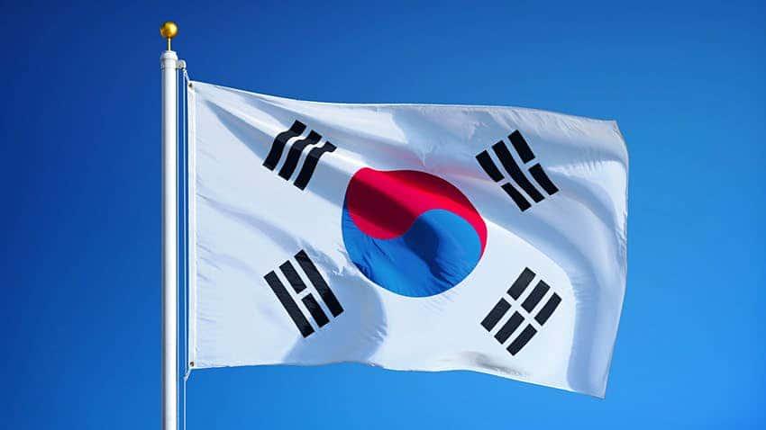 koreanische Flagge
