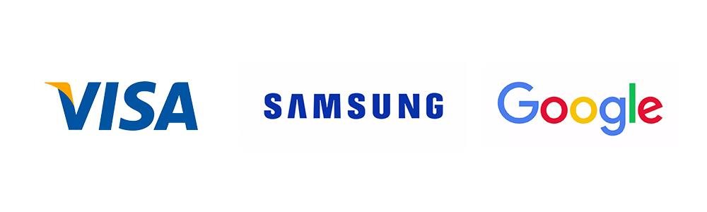 text logos