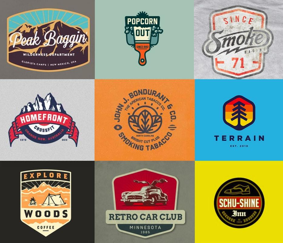 vintage logos 2