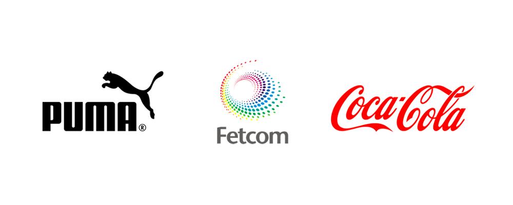 Organic, curves, spirals logos