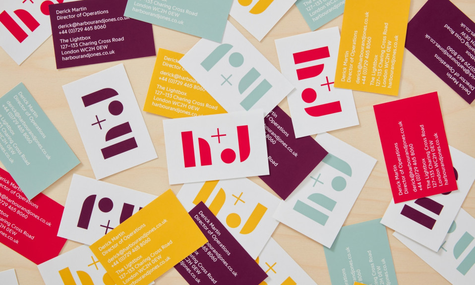 Brandbook: business cards