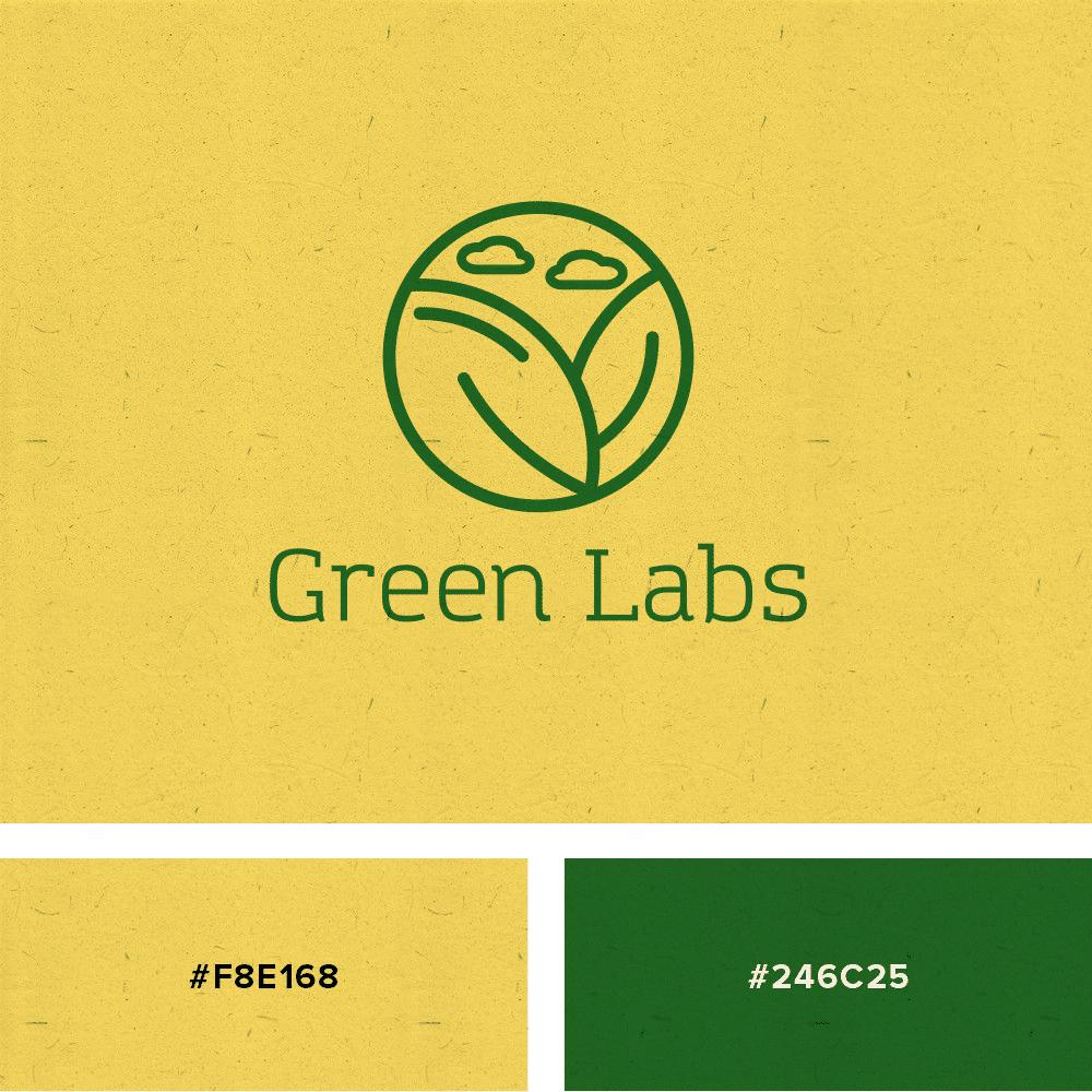logo yellow green