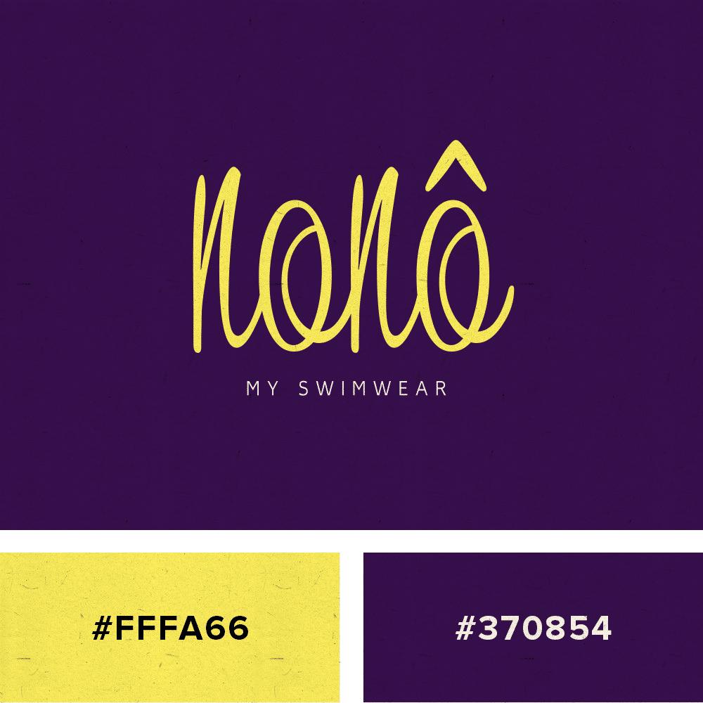 logo yellow purple