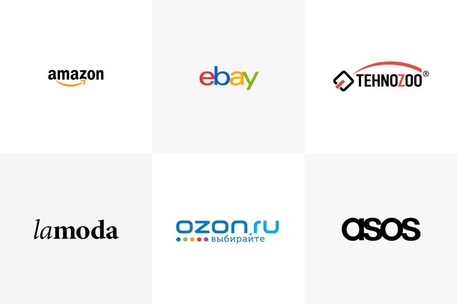 Modern popular logos