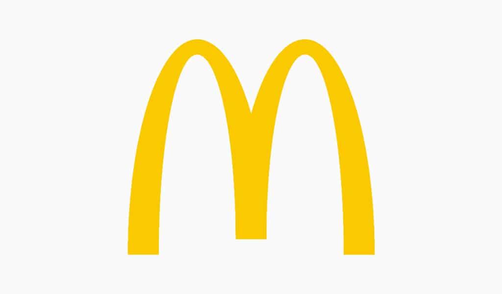 Mc`Donalds famous logo