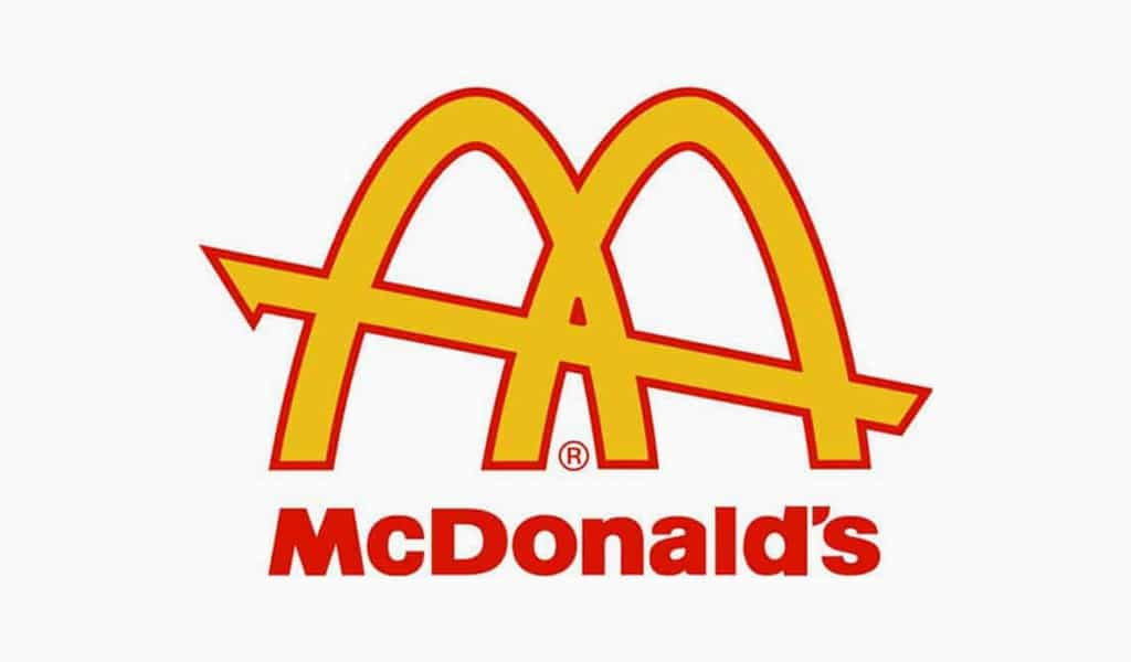 Mc'donalds Golden Arches Logo, 1961