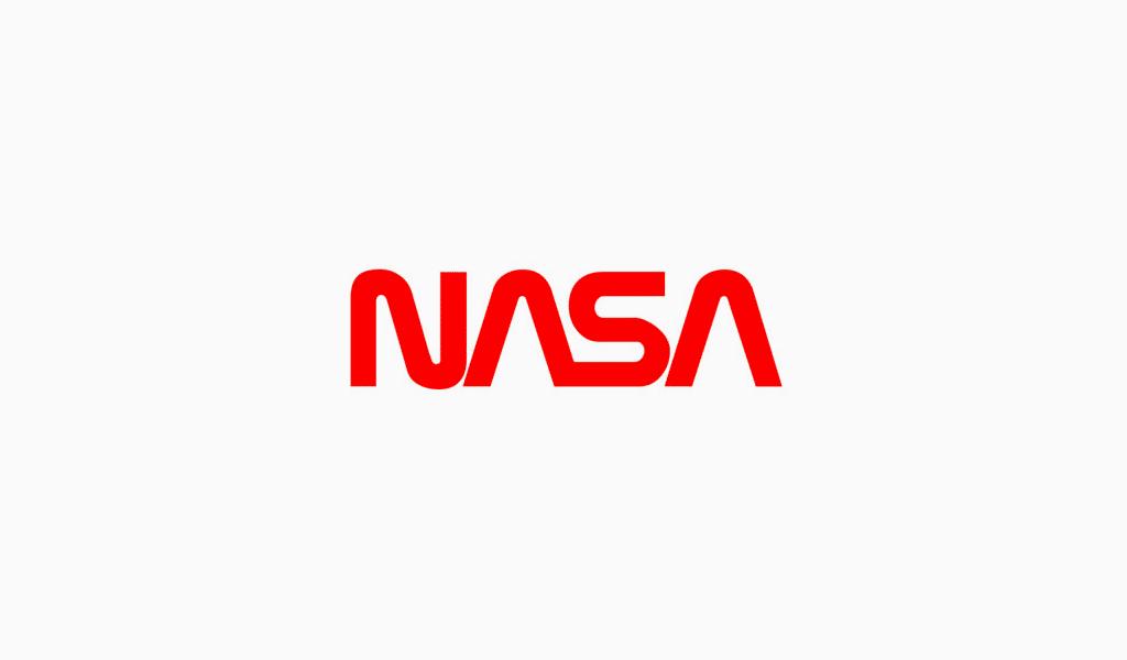 NASA's new text logo