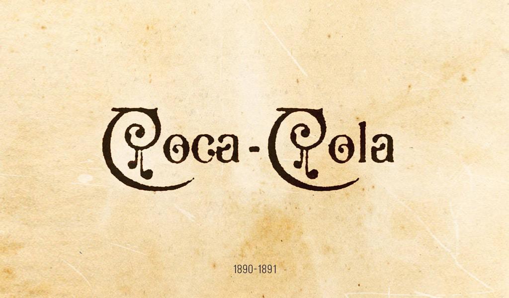 Coca-Cola logo, 1890