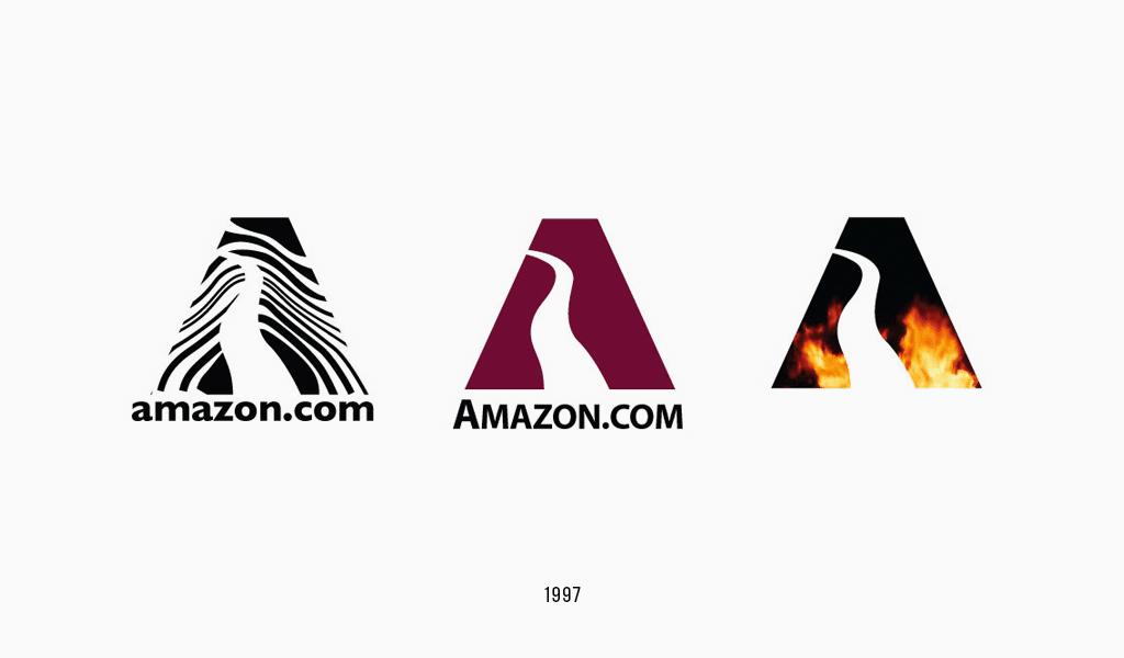 Amazon logo, 1997