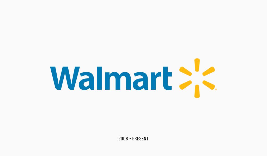 Walmart present logo (2008)