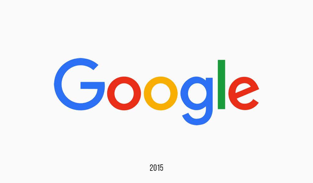 Google logo, 2015
