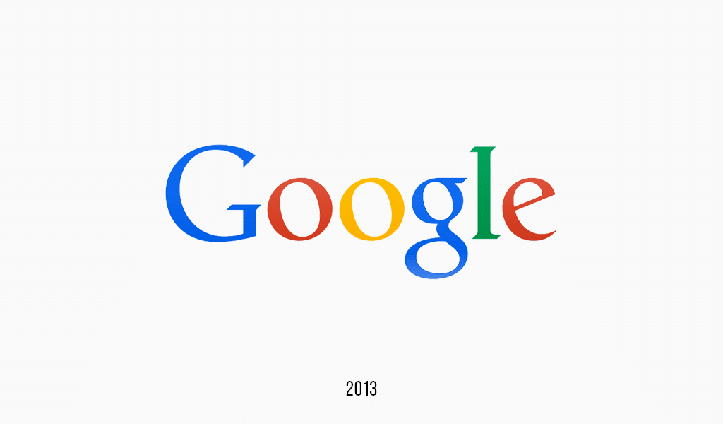 Google logo, 2013