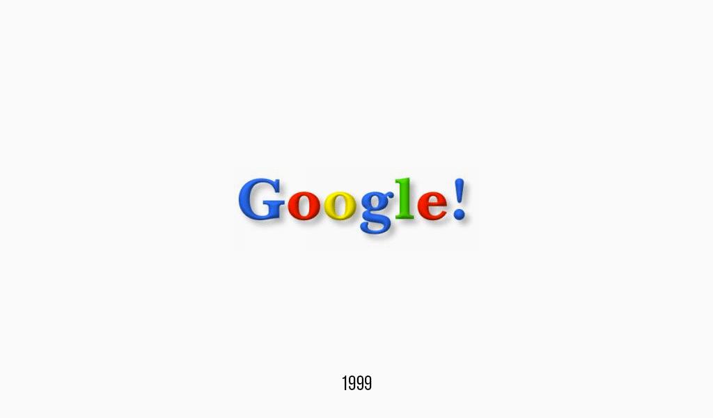 Google logo, 1999