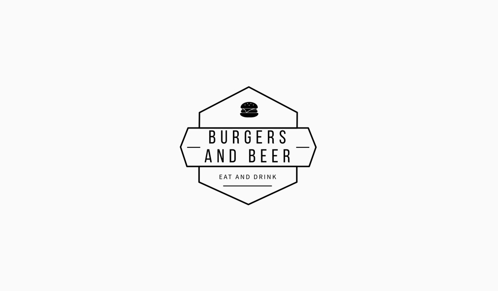 Logo for a cafe and restaurant