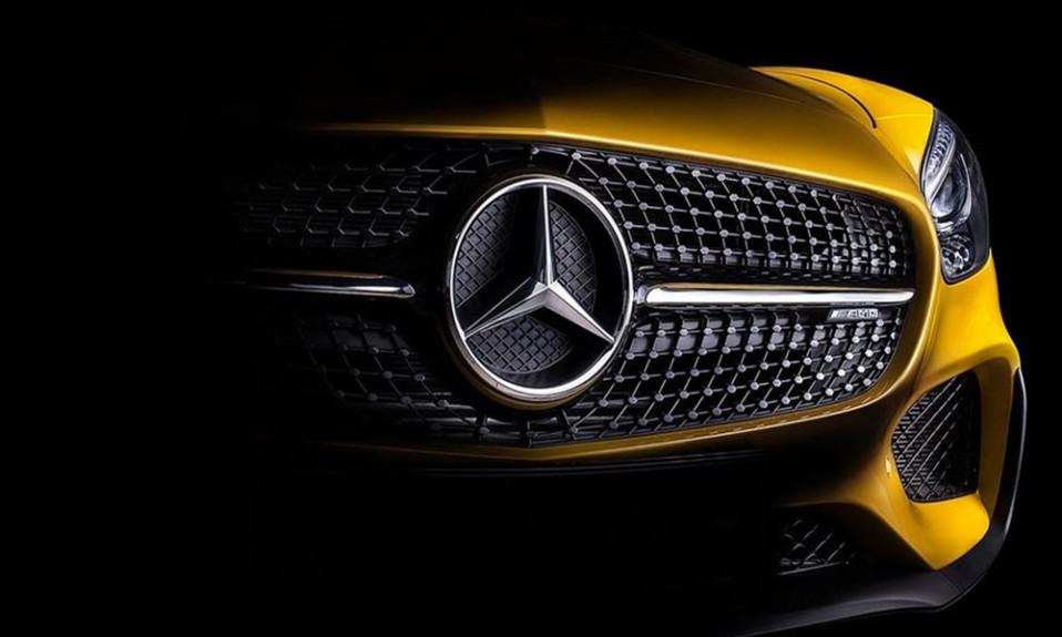 Mercedes Benz logo cover