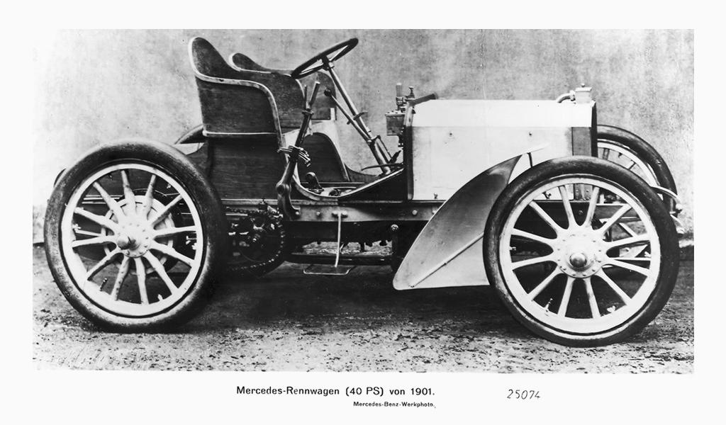 Mercedes Benz first car