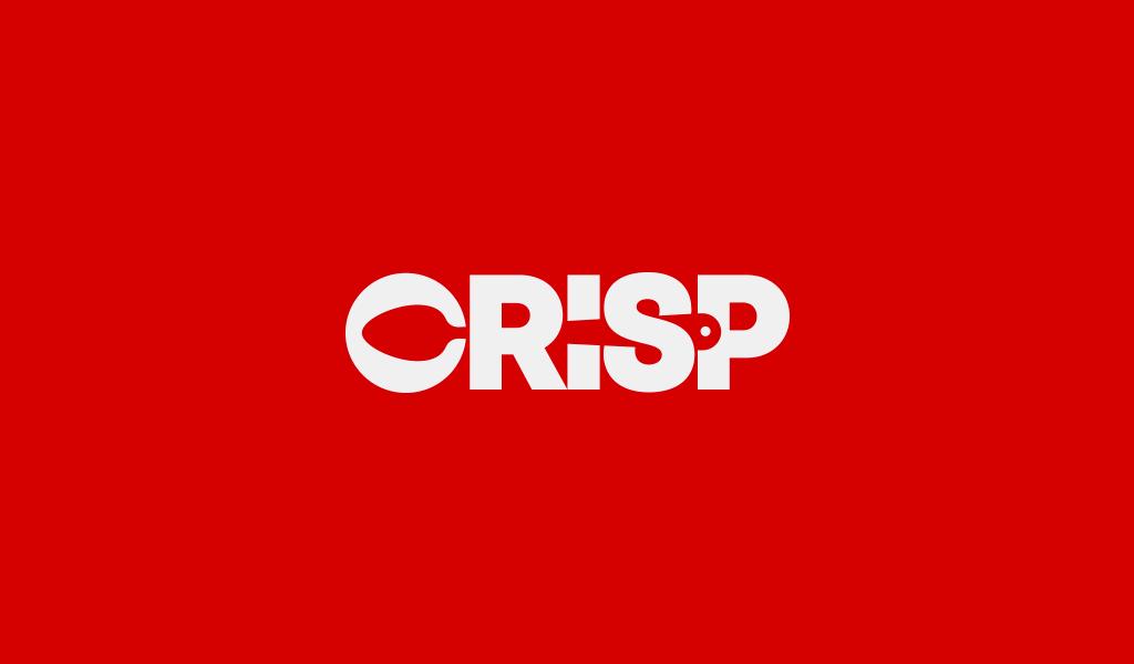 Crisp logo design