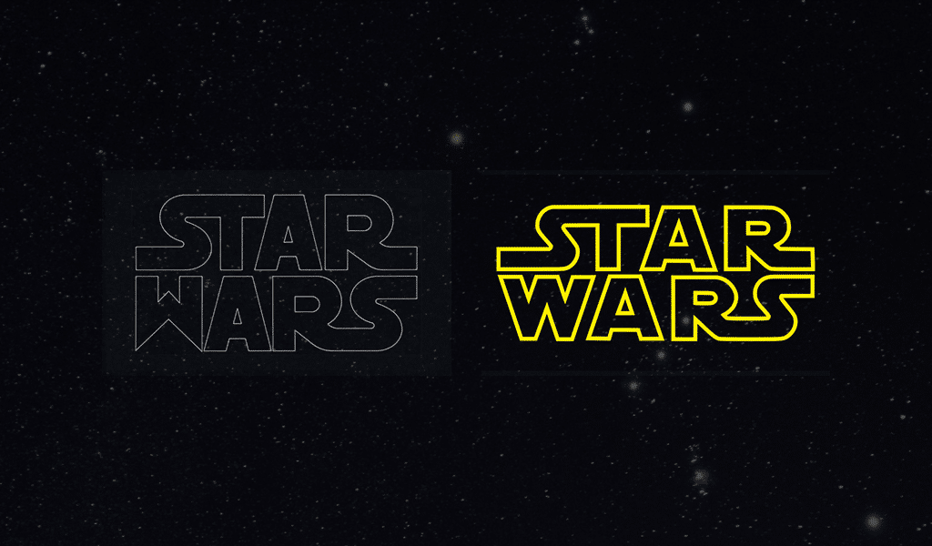 Star Wars logo 3