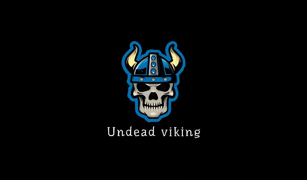 Undead Viking Gaming logo