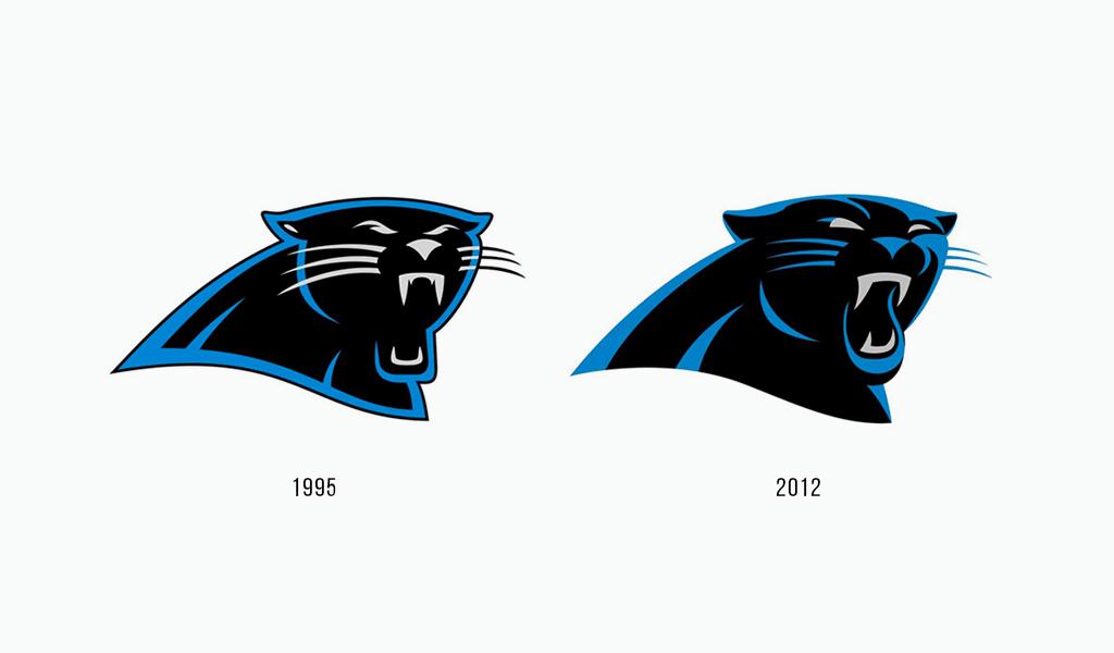 Carolina Panthers logo history