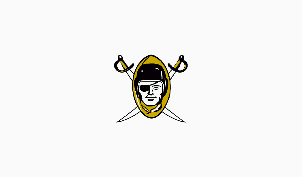 Oakland Raiders First Logo