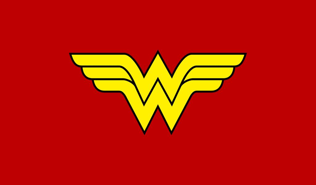 Wonder woman first logo