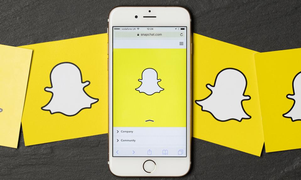 Snapchat logo cover