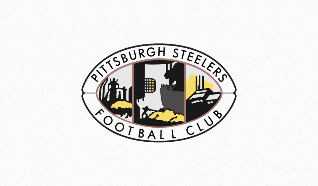 Pittsburgh Steelers first logo