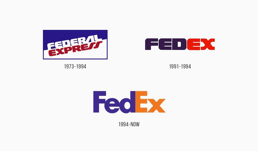 Fedex logo history