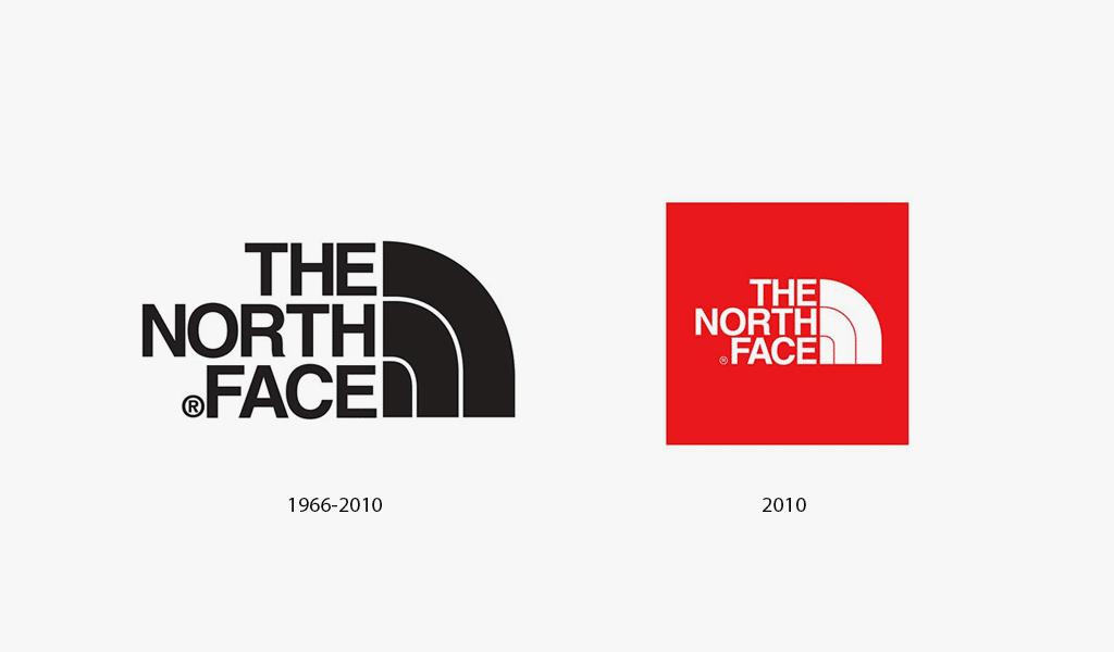 The North Face logo history