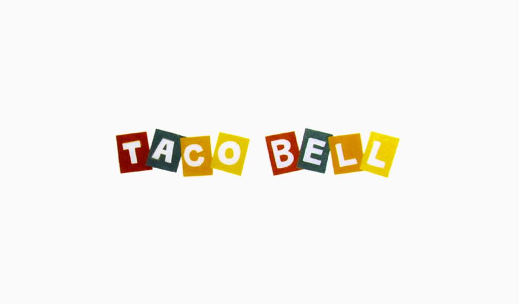 Taco Bell first logo