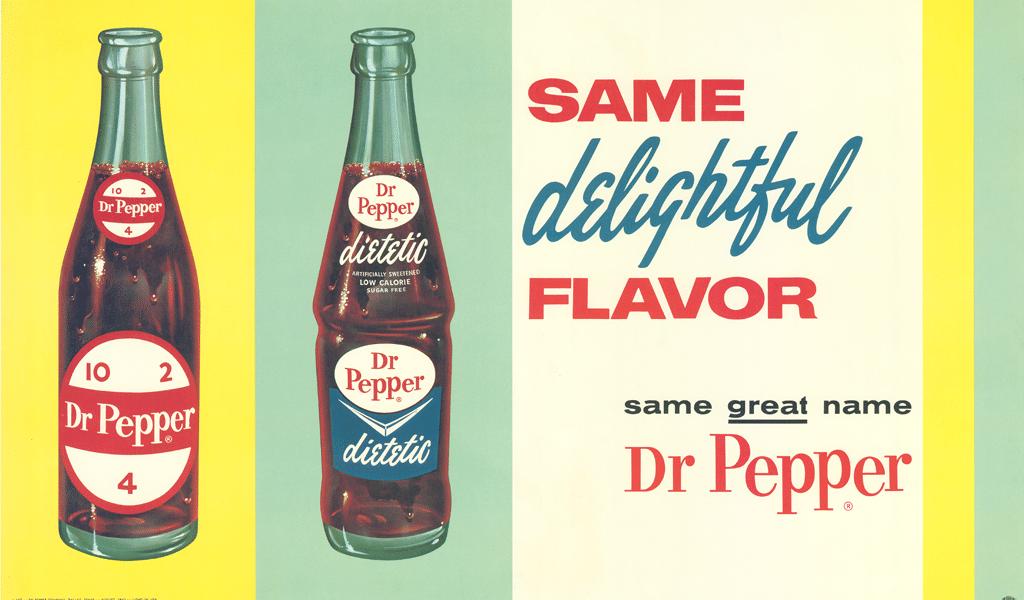 Dr. Pepper first bottle