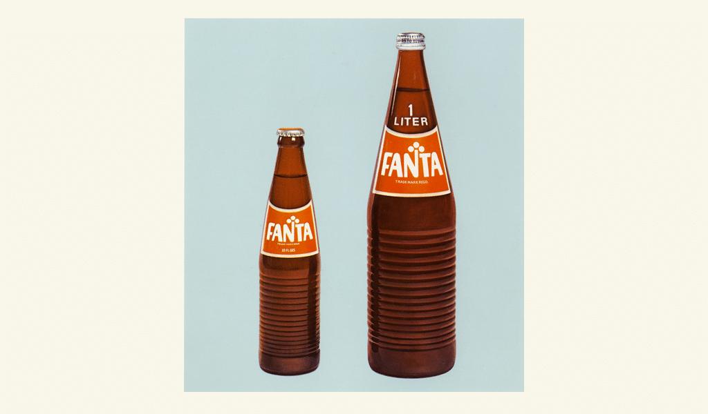 Fanta old bottle