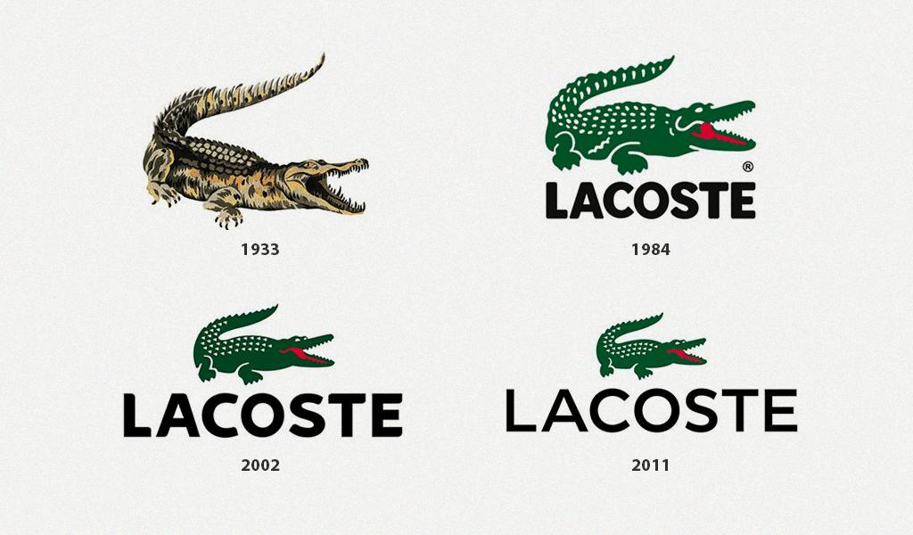 Lacoste logo history
