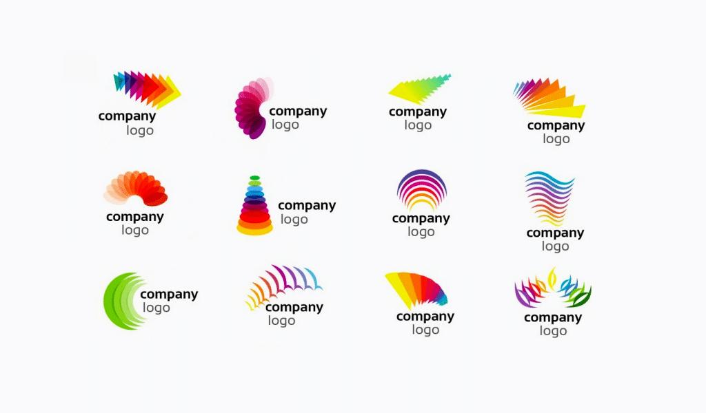 Rainbow logos