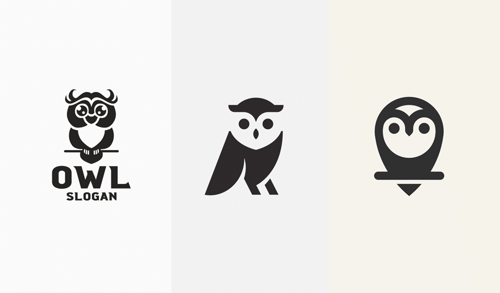 Owl logos