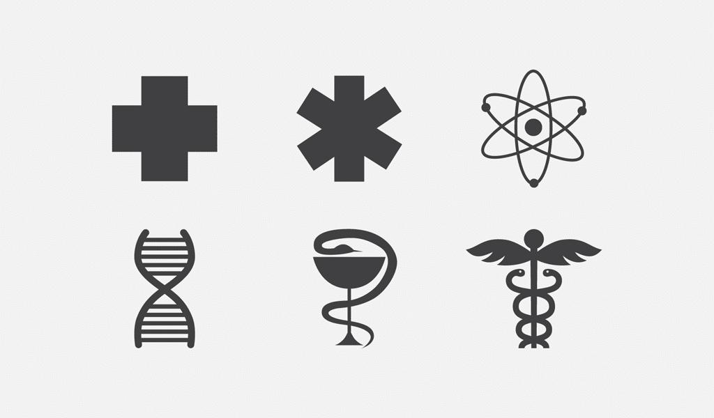 Cross snake logos