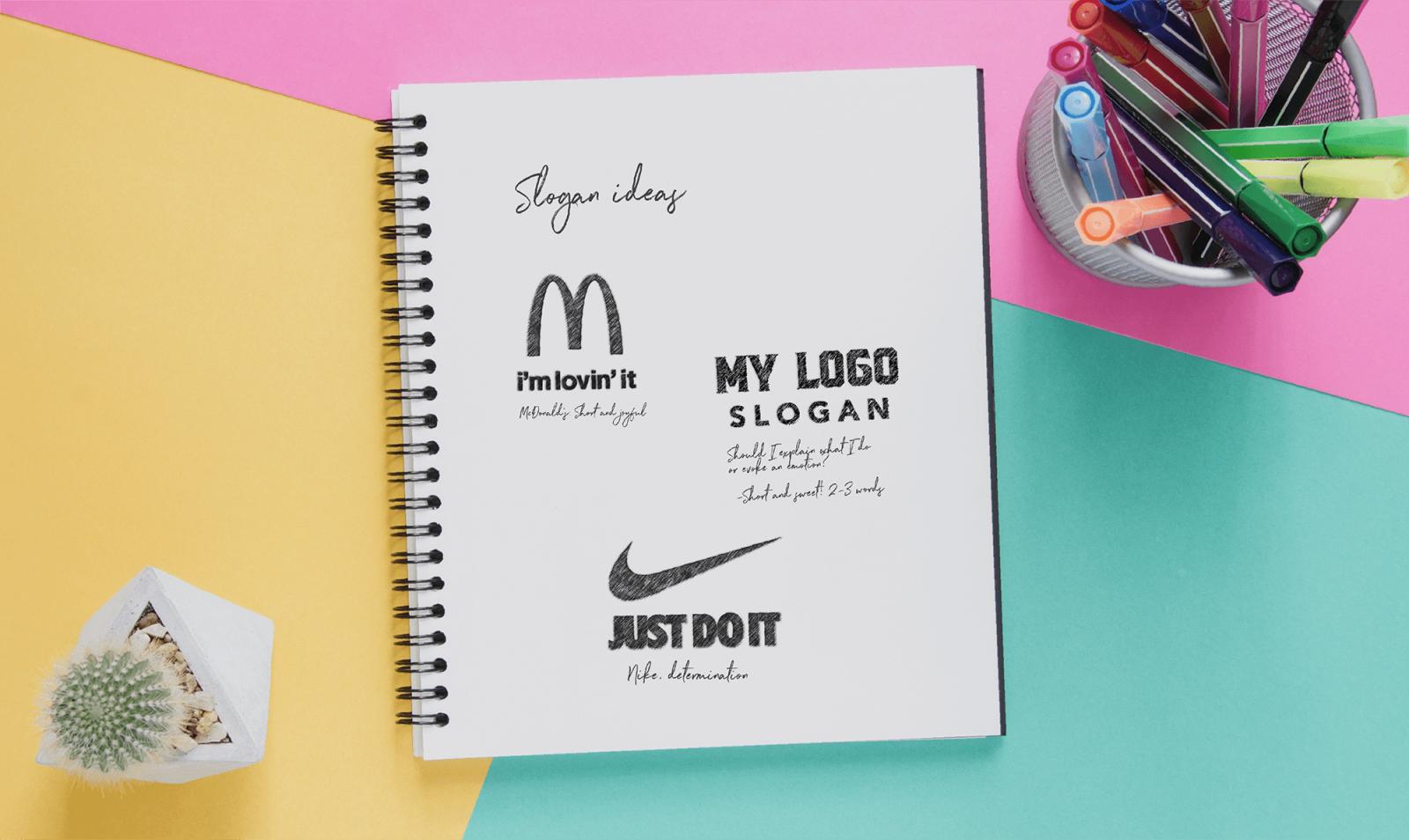 Design a Logo with a Slogan